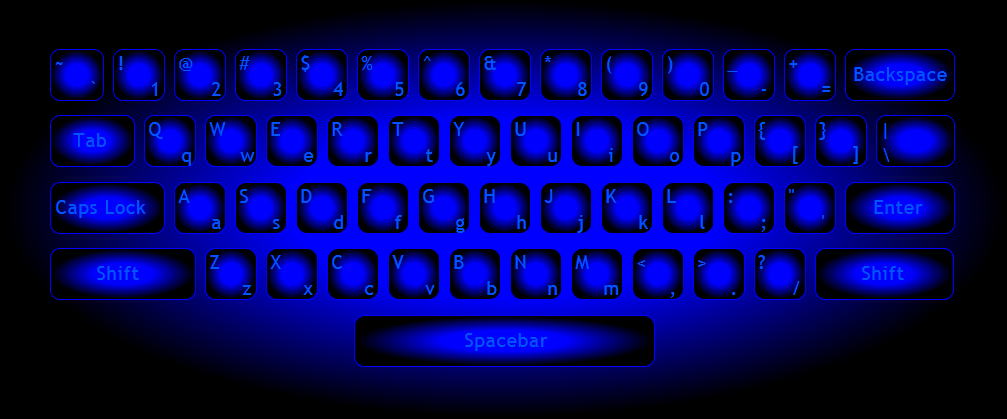 Color a Keyboard