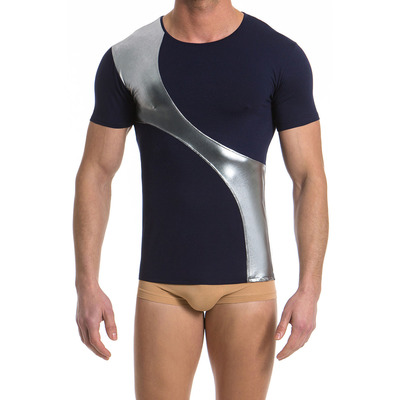 Modus Vivedni Tone 2 Tone Men/'s Metallic T-Shirt